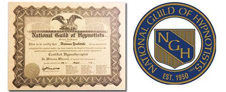 NGH米国催眠士協会認定 マスターヒプノティスト